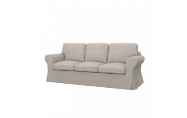 EKTORP Fodera per divano letto a 3 posti