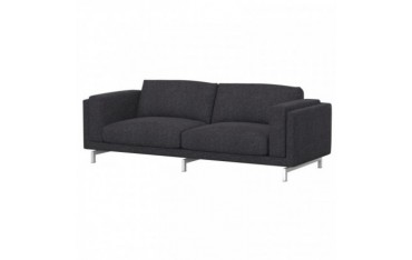 NOCKEBY Fodera per divano a 3 posti