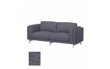 NOCKEBY Fodera per divano a 2 posti
