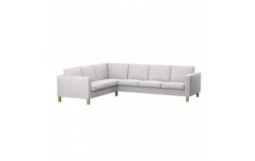KARLANDA Fodera per sofà d'angolo 2+3