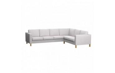 KARLANDA Fodera per sofà d'angolo 3+2