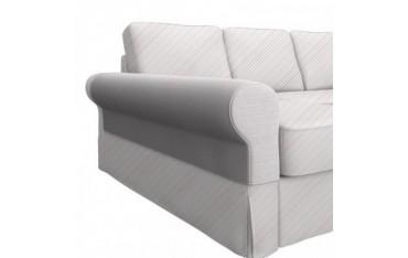 BACKABRO fodere per braccioli per divano con chaise-longue, un paio