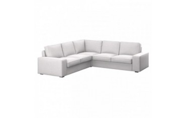 KIVIK Fodera per sofà d'angolo 2+2